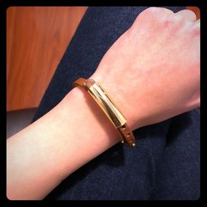 Banana Republic Leather Bracelet - Brown